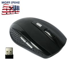 2.4GHZ USB 2.0 Wireless Mouse for Laptop Tablet Computer PC