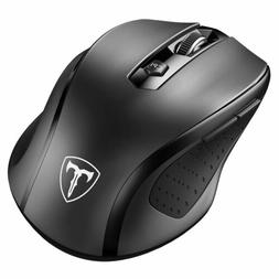 VicTsing 2.4Ghz Wireless Optical Gaming Mouse Mice + USB Rec