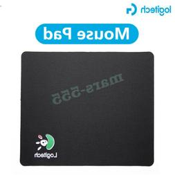2*Black Fabric Mouse Mat Pad High Quality 1.5mm Thick Non Sl