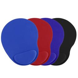 2 Pack Ergonomic Comfortable Mouse Pad Mat With Wrist Rest S