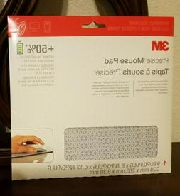 3M Precise Mouse Pad with Non-Skid Backing and Battery Savin