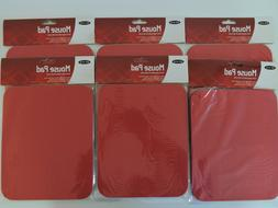 6 NEW Belkin Standard Mouse Pads 7.9'' x 9.8'' Red