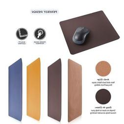 Anti-Slip Leather Gaming Mouse Pad Mat Pad For Computer Lapt