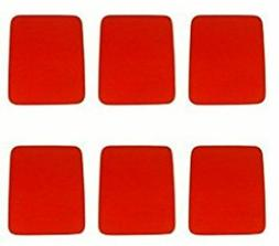 Belkin Mouse Pad F8E081-RED- 6 Pack
