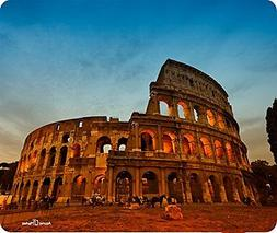 Colosseum At Sunset Rome Italy Mouse Pad