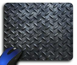Diamond Plate Metal Rectangle Mouse Pad