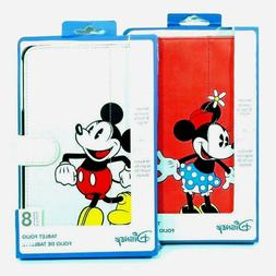 Disney Mickey Mouse Minnie Mouse Tablet Folio Case For Veriz