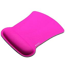 EXCO - Ergonomic Office Mouse Pad with Memory Foam Wrist Res