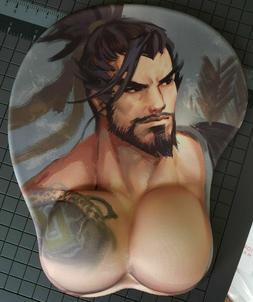 USA SELLER 3 Day Shipping Exclusive 3D mouse Pad Wrist Rest TRACER Overwatch