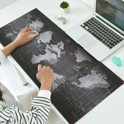 700x300mm Large World Map Gaming Mouse Mat Pad For Laptop Co