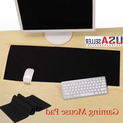 Extended XL Heavy Thick Gaming Mouse Pad Desk Keyboard Mat N