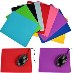 Fashion High Quality Square Mouse Pad Fabric 9 Colors New HG