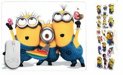 Minions Mouse Pad Party Time Children's Minions Mousepad wit