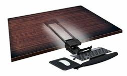 Mount-It! Underdesk Keyboard Drawer with Gel Wrist Pad and M
