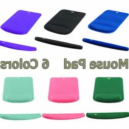 Office Mouse Pad with Keyboard Wrist Rest Support Comfortabl
