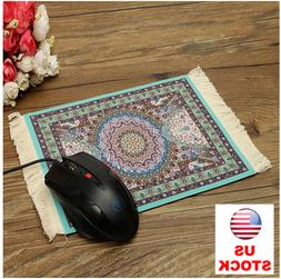 Persian Rug Style Mouse Pad Light Blue Bohemia For Desktop P