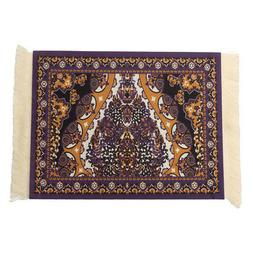 Persian Style Mini Rug Mouse Pad Carpet Mousemat Gift With W