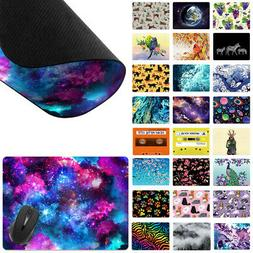 X-Large Rectangle Mouse Pad Non-Slip Mixed Design for Home O