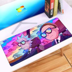 Anime Rick and Morty MousePad Large Locking Edge <font><b>Sp
