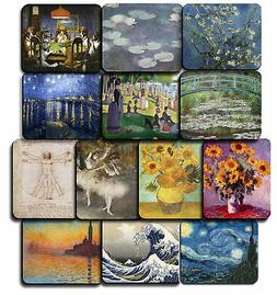 ARTIST & PAINTINGS Decorative Mouse Pad Art Print 9.24x7.75