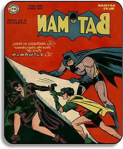 Batman # 42 Comic Book Cover With Catwoman Mouse Pad