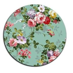 Beautiful Flowers Like Sleeping Princess Round Mouse Pad Sho