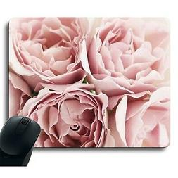 Beautiful Pink Roses Charming Flower Decorate Gaming Mouse p