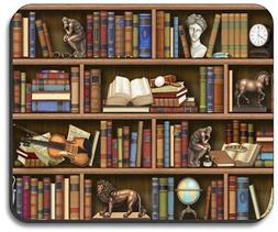 Books In Library - Mouse Pad - By Art Plates