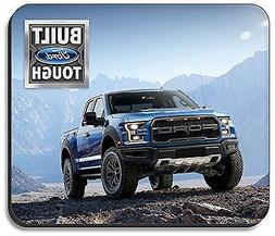 Art Plates brand Mouse Pad - Blue Ford F-150 Truck