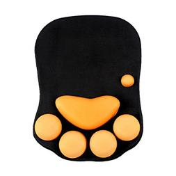 Cat Paw Mouse Pad With Wrist Support, Cartoon Cute Cats Paw