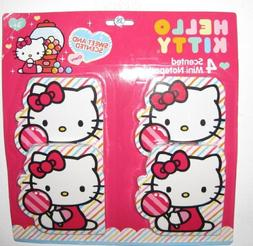 Hello Kitty 4-pack Cherry Scented Memo Note Pads Decorate Br