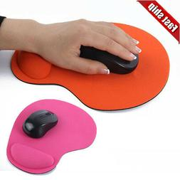Comfort Mouse Pad Soft Gel With Wrist Rest Support Mat For C
