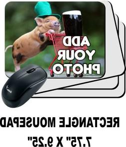 Custom Printed Mouse Pad Personalized Photo,logo,design Add