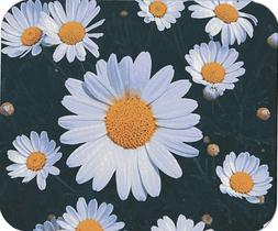 Daisy Flower Print Computer / Laptop Mouse Pad
