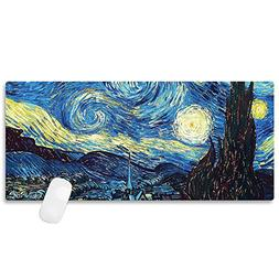 durable mouse pad starry night