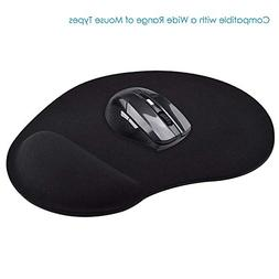 BKNF8E262BLK-BELKIN F8E262-BLK WAVEREST GEL MOUSE PAD