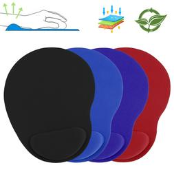 ergonomic mouse pad with wrist rest support