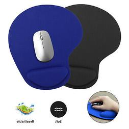 Ergonomic Non-Slip Mouse Pad Mat With Wrist Rest Support for