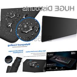 Ktrio Extended Gaming Mouse Pad with Stitched Edges, Large M