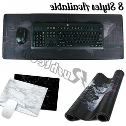 Extended Gaming Mouse Pad Computer Keyboard Mousepad Non-Sli