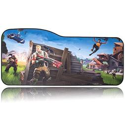 BRILA Extended Mouse pad - Curve Design Gaming Mouse pad - S