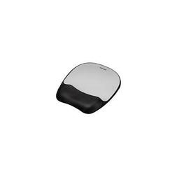 FEL9175801 - Fellowes Memory foam Mouse Pad/Wrist Rest- Silv