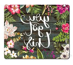 Pingpi Floral Mouse Pad Motiavation Quote You Got This Neopr
