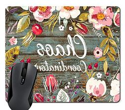 Wknoon Funny Quote Gaming Mouse Pad Custom, Chaos Coordinato