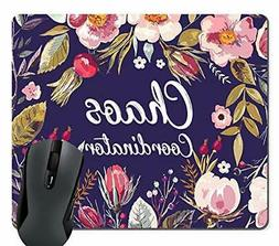 Wknoon Funny Quotes Rectangle Mouse Pad, Chaos Coordinator Q