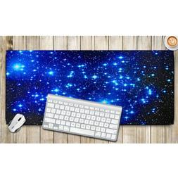 Galaxy Pattern Anti-slip Laptop Computer Gaming Large Mouse