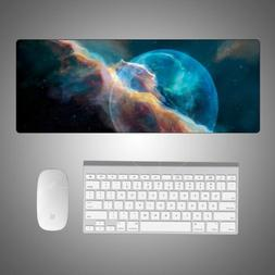 Galaxy Soft Extended Gaming Mouse Pad Large Size Desk Keyboa