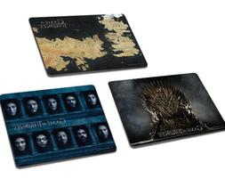 Game of Thrones Mouse Pad 3 Pack Set NEW