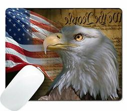 gaming mouse pad custom vintage usa flag