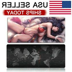 Extended Mouse Pad Large Size Desk Computer Keyboard Game Ma